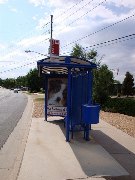 Walo bus stop far